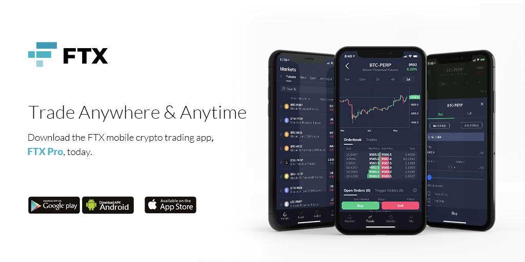FTXからモバイルアプリがリリース「FTX Pro」